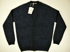 McGEORGE cardigan maglione UOMO maglia pullover LANA SHETLAND blu A/I 2019/'20 image