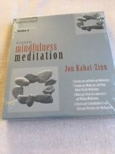 Guided Mindfulness meditation Series 3 - 4 practice CDs - Jon Kabat-Zinn