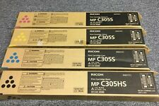 RICOH MP C305S/HS  Toner Set  Bundle (GENUINE) - Black/M/C/Y Set 841622 841609