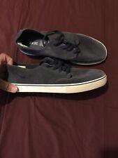 Nike SB Braata LR Suede Navy Blue/White Skateboarding Shoe 477650 440 Men Sz 12