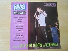 Elvis Presley LP, In My Way, songs from Wild In The Country & Blue Hawaii