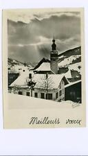 "Savoie, France  ""Best Wishes""  used postcard RPPC"