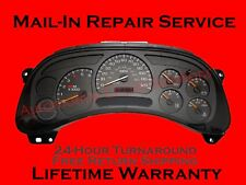 03-07 GM Chevrolet Sierra Silverado Instrument Gauge Cluster FULL REPAIR SERVICE