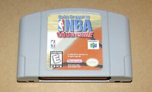 Kobe Bryant in NBA Courtside for Nintendo 64 Fast Shipping! Authentic