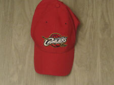 Red Cleveland Cavaliers ball cap by Reebok