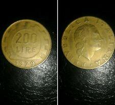 Italia moneta Repubblica del 1979 200 lire