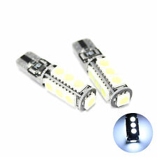"BIANCO 13-smd LED NO ERROR FREE CANBUS lato LAMPADINE Upgrade ""Hid"" LUCI"