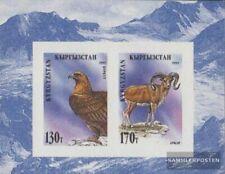 Kirgisistan Bloc 7b (complète edition) neuf avec gomme originale 1995 Locals Flo