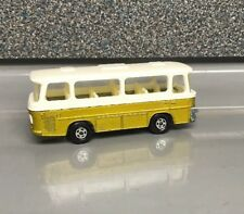 Lesney Matchbox Superfast | No 12 Setra Coach | Used | Gold White |