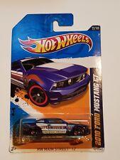 "Hot Wheels 2010 Ford Mustang GT HW Main Street 12 ""Sheriff"" #7/10 Card #167/247"