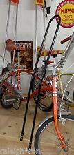 """BACK N' BLACK 42"""" Tall Banana Seat Muscle Bike Rat Rod Bicycle SISSY BAR"""