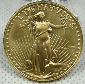 1988 Half Ounce $25 Dollar Uncirculated Gold Eagle