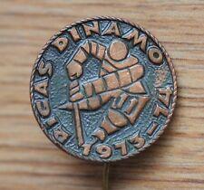 Vintage Soviet USSR Ice-Hockey Club Dinamo Riga Pin Badge