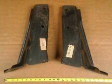 NOS GM 325237 325238 1973 Chevy Monte Carlo PAIR rear bumper brackets braces 73