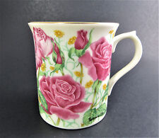 LENOX 1995 ROSE BY SUZANNE CLEE FROM THE FLOWER BLOSSOM MUG COLLECTION (E57)