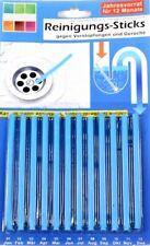 Abflussreiniger Abfluss Sticks 24 Stück Rohrreiniger Geruchsentferner Stäbchen