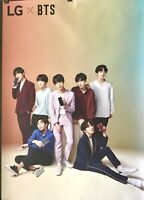 BTS POSTER (LG Exclusive) K-KON LA 2018 24x36 RARE! Not Available In Stores!!!