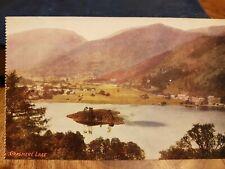 GRASMERE LAKE POSTCARD c1910