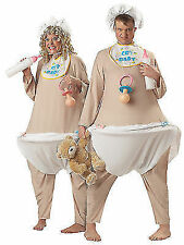 Cry Baby Bodysuit Funny Fat Women Men Costume One Size