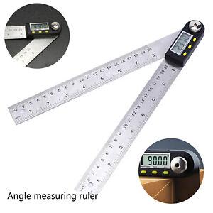 """7,87 """"Digitaler Winkelmesser Ruller Goniometer Winkelfinder Gehrungslehre"""