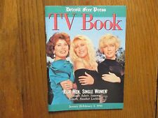 Jan-1990 Detroit Press TV Book/Mag(HEATHER LOCKLEAR/DEBORAH ADAIR/SUZANNE SOMERS