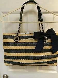 Kate Spade Pacific Heights Helena - Straw Natural/Black