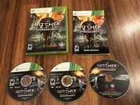 The Witcher 2: Assassins Of KingsEnhanced Edition Microsoft Xbox 360 W/ Manual