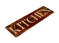 TIN SIGN Kitchen Rustic Metal Décor Art Store Shop Market Farm Cottage A463