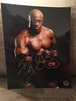 Bobby Lashley Autograph 8x10 Signed Photo Wrestling WWE MMA Bellator Champion
