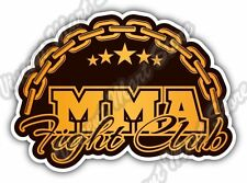 "Mixed Martial Arts MMA Fight Club Chane Car Bumper Vinyl Sticker Decal 5""X4"""