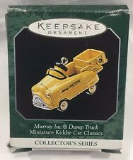 Hallmark Keepsake Ornament Miniature Murray Dump Truck Kiddie Car Classics 1998