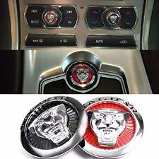 5pc Aluminium universal decoration metal car body interior sticker for Jaguar XF