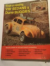 VOLKSWAGEN BAJA-PREPPING VW SEDANS & DUNE BUGGIES TO BAJA MANUAL 1970 BOB WAAR