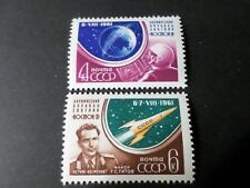RUSSIE 1961, timbres 2452/2453, COSMONAUTE TITOV, neufs** MNH STAMPS