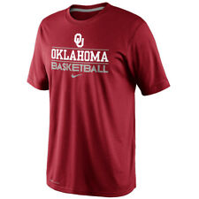 Nike Oklahoma Sooners OU Basketball Practice Team Issue Dri-FIT Men's Shirt NEW