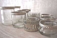 Metal Vintage Style Glass Tea Light Candle Holder Wedding Decoration Antique