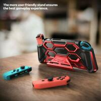 Original Mumba Protective Hand Grips Kickstand Case for Nintendo Switch Console