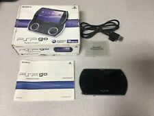 PSP GO Video Game Console (Sony PlayStation Portable) - Black W/ Box