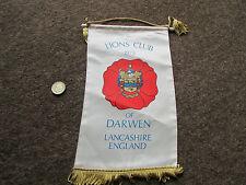 Lions Club 1975  DARWEN  Lancashire Lions International Original PENNANT
