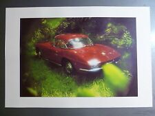 1961 Chevrolet Corvette Convertible Print, Picture, Poster RARE!! Awesome L@@K