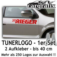 Tunerlogo Sponsorenaufkleber Tuner Marken Logo Aufkleber Decal Sticker Set