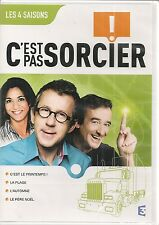 """DVD """"C'EST PAS SORCIER - LES 4 SAISONS"""" 4 X 26 MINUTES neuf sous blister"""