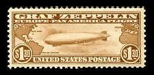 momen: US Stamps #C14 Zeppelin MNH OG PSE Graded XF-90