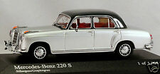 1/43 Minichamps 430033007 Mercedes Benz 220S W180 1956 silver MIB