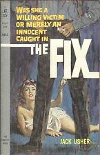 THE FIX by JACK USHER POCKET BOOK PB #6053 1959 1961