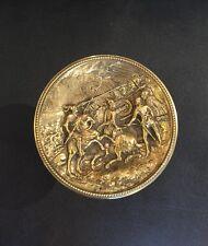 Magnificent Collective Antique Golden Taz  Horse Rider  Battle% 20 OFF