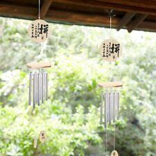 Windspiel Klangspiel Klangröhren Feng Shui Windharfe Haus Garten Dekration