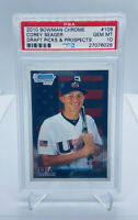 2010 BOWMAN CHROME COREY SEAGER #BDPP108 DODGERS PSA 10 TEAM USA DRAFT ROOKIE/RC