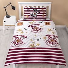 HARRY POTTER MUGGLES SINGLE DUVET COVER SET BEDDING NEW OFFICIAL