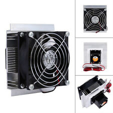 Thermoelectric Peltier Cooler Refrigeration Semiconductor Cooling Fan Kit 12V 6A